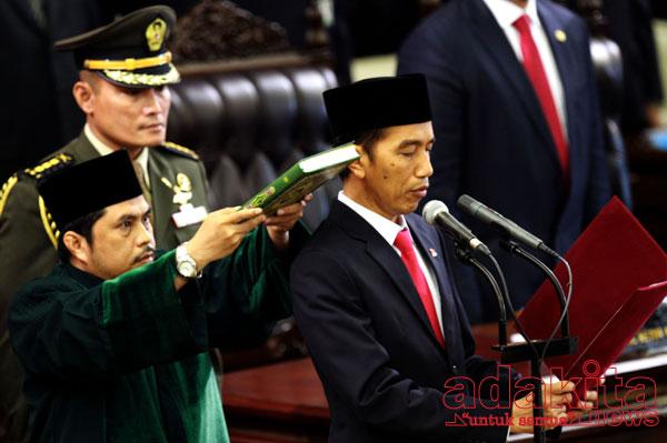 Jokowi-lantik