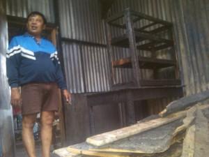 Tiga Kios Pasar Gurah Nyaris Terbakar