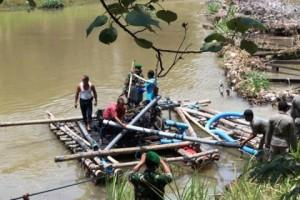 Diduga Bocor, Satpol PP Provinsi Razia Penambang Pasir Tulungagung
