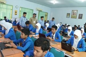 UN SMP : di Eks Karesidenan Madiun Hanya 2 Sekolah Gunakan Sistim Online