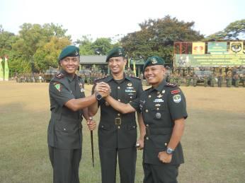 Danbrigif 1 PIKJS Pimpin Serah Terima Jabatan Komandan    Batalyon Infanteri Mekanis 201 Jaya Yudha-1