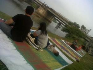Jembatan Brawijaya, Lokasi Ngabuburit Muda-Mudi di Kota Kediri