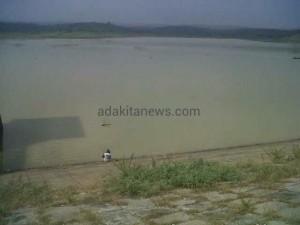 Kemarau, Debit Air 6 Waduk dan Dam Menyusut 60 %