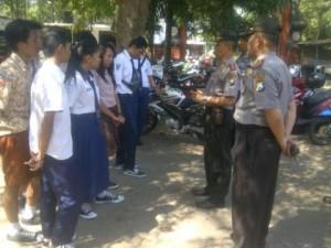 Nongkrong di Warung, Puluhan Pelajar Terjaring Razia