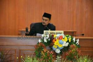 Dengarkan Pidato Kenegaraan Presiden, DPRD Kabupaten Kediri Gelar Paripurna Istimewa