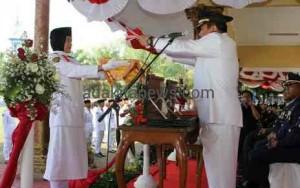 Parade Foto Upacara Peringatan HUT RI ke-70 Kota Madiun