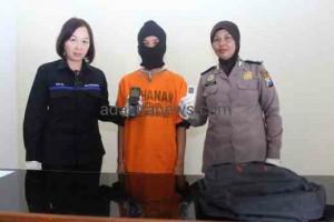 Pemuda Jambi Tertangkap Curi Tas Jamaah Masjid
