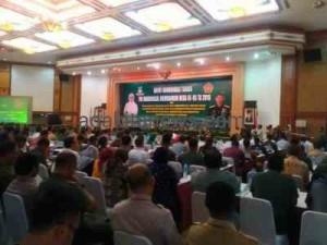 Pangdam Jaya Hadiri Rakornis Membangun Desa