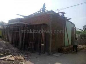Anggaran Proyek Disunat, Kwalitas Bangunan Diindikasi Tidak Sesuai Spesifikasi