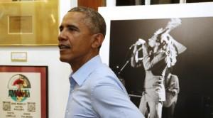 Barack Obama, Fans Berat Bob Marley