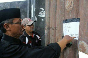 Kecewa, GPO Segel Gerbang Padepokan PSHT