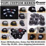 Topi Keren Custom Satuan