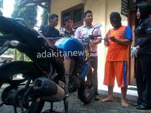 Pedamping Dana Desa di Jombang Jadi Tersangka Pencurian Motor