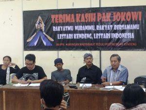 "Warga Kendeng Semboyani ""Becik Ketitik, Olo Ketoro"" Untuk Perjuangkan Haknya"