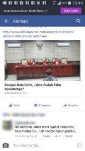 """Kasus Batik: Sesepuh PDIP Nganjuk Sudah Menduga Bakal Tidak """"Beres"""""""