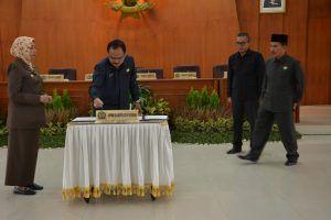DPRD Kabupaten Kediri Gelar Tiga Agenda Rapat Paripurna