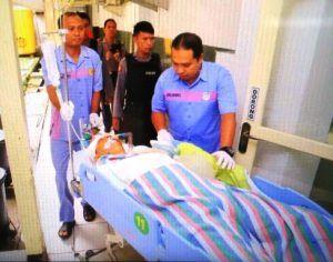 Briptu Arif Tembak Kepala Sendiri Dengan Senpi kaliber 38