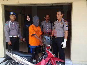 Larikan Motor Teman Sekamar, Dikejar Hingga Yogyakarta