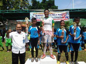 Sisihkan Banyak Tim, Sebelum Jadi Jawara Sepakbola Mini Porkot 2017