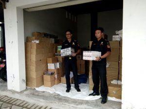 583 Ribu Batang Rokok Bodong Disita Bea dan Cukai Blitar
