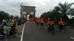5 Ribu Lebih Komunitas Sepeda Tua Ramaikan HUT Kediri Ke-1213