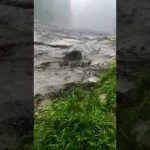 Ngeri, Video Amatir Penambang Pasir Yang Tergulung Banjir Lahar Dingin