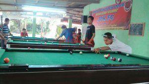 Biliar Warung Kopi, Kumpul-Kumpul Sambil Olahraga