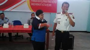 Cegah Pungli, Dishub Kota Kediri Gelar Pembinaan 217 Jukir