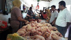 Satgas Pangan Polres Blitar Kota Mulai Sidak Pasar