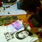 Melukis di Media Kaos, Pemuda Asal Jombang Raup Untung Rp 4 Juta Perbulan