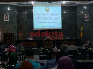 Rapat Paripurna: Wakil Walikota Madiun Sampaikan Permohonan Maaf Kepada Masyarakat