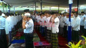 75 Warga Binaan Lapas Kelas IIB Kabupaten Jombang Terima SK Remisi Usai Salat Id