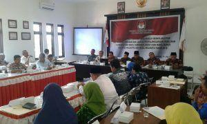KPUD Kabupaten Madiun Sosialisasi Pemutakhiran Data Pemilih