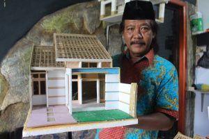 Rumah Miniatur Anis Suadji, Bisa Diaplikasikan Jadi Rumah Sungguhan