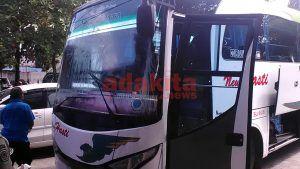Belum Sempat Main, Bus Rombongan PSMP Dilempari Batu oleh Oknum Suporter Persik