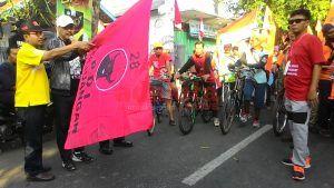 Peringati HUT RI, DPC PDI-P Kabupaten Jombang Gandeng Sayap Partai