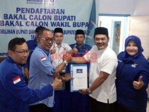 Yakini Partai Demokrat Kunci Kemenangan, Mantan Ketua DPC PDI-P Jombang Ikut Penjaringan