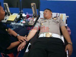 Tak Lolos Pemeriksaan, Kasatlantas Polres Madiun Kota Gagal Donorkan Darah