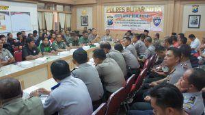 Polres Blitar Terjunkan 850 Personel, Amankan Pengesahan Anggota PSHT