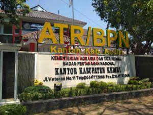 Sekitar 19 Ribu Bidang Tanah di Kabupaten Kediri, Jadi Target BPN Tahun Ini