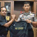 Kapolresta Sidoarjo Beri Dukungan untuk Tim Futsal PWI Sidoarjo