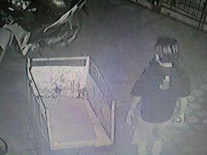 Pencuri di Ponpes Terekam CCTV