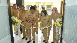 Bupati Jombang Resmikan Poli Santun Lansia