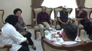 Gus Ipul, Risma, Azwar Anas, hingga Dahlan Iskan, Bertemu Megawati di Juanda