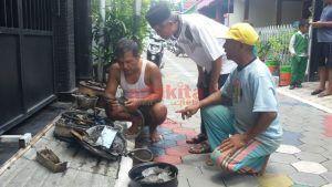 Kompor Gas Terbakar, Warga Perum Manisrejo Kota Madiun Geger