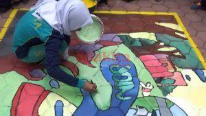 Cegah Vandalisme Dengan Lomba Lukis Mural
