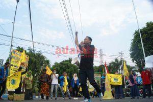 Aksi Damai PMII Jombang, Sampaikan Pesan Kepada RI 2