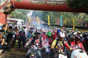 Raider Asal Luar Jawa Ramaikan Trail Adventure Kodim 0808