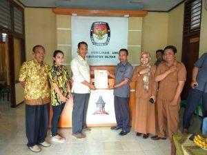Hari Terakhir Pendaftaran Parpol, KPU Kabupaten Blitar Nyatakan Baru 1 Parpol Berkasnya Lengkap