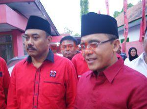 Cawagub Jatim, Abdullah Azwar Anas Kunjungi Kantor DPC PDI-P Jombang